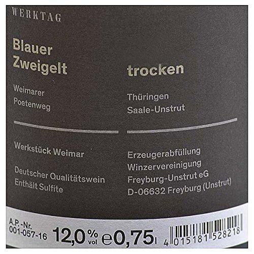 Winzervereinigung Freyburg-Unstrut Werkstück Weimar Blauer Zweigelt 0,75l - 2