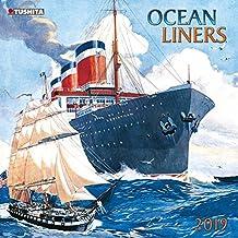 Ocean liners 2019: Kalender 2019 (Media Illustration)
