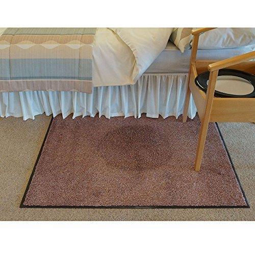 Preisvergleich Produktbild Ability Superstore - Schutzmatte für den Boden in beige,  90 x 150cm