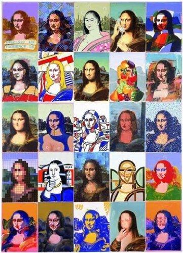 Editions Ricordi 2801N25051 - Puzzle de 1000 piezas del cuadro  Mona Lisa de Giovanopoulos