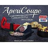 AperiCoupe - Guillotine à saucisson 30x18,5x12,5cm - L'indispensable pour vos apéritifs et buffets dinatoires.