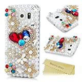 Galaxy S6 Case, Galaxy S6 3D Bling Shiny Diamonds Glitter Sparkling Case Colorful
