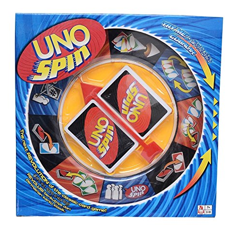 Wishkey Uno Spin Wheel Card Family Board Game  available at amazon for Rs.799