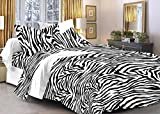 Story@Home Magic 152TC Cotton Double Bedsheet with 2 Pillow Covers - Black Cotton Bedsheets For Double Bed best price on Amazon @ Rs. 528