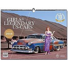 Girls & legendary US-Cars 2018: Wochenkalender