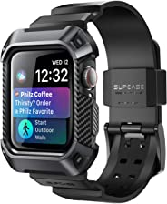 Apple Watch 4 Case 44mm 2018, SUPCASE Rugged Protective Case with Strap Bands for Apple Watch Series 4 [Unicorn Beetle Pro]