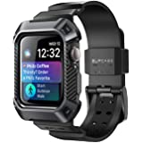 SUPCASE [Unicorn Beetle Pro] Designed for Apple Watch Series 6/SE/5/4 [44mm], Rugged Protective Case with Strap Bands