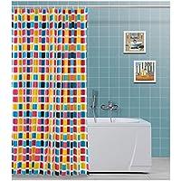 Multicolore 5x240x200 cm FERIDRAS 187061 Tenda Doccia