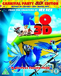 Rio (Blu-ray 3D + Blu-ray + DVD + Digital Copy)