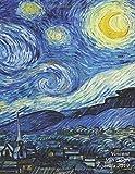 Vincent Van Gogh Agenda 2019: Élégant et Pratique | La Nuit Étoilée | Agenda Organiseur Pour Ton Quotidien | 52 Semaines | Janvier à Décembre 2019