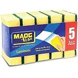 Maog Sponge Scrubber, Laminate, 5 Pcs