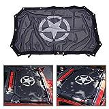 Copertura parasole in rete per tettuccio Wrangler JK 2 porte, con protezione UV
