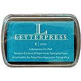 Letterpress Ink Pad-Blue