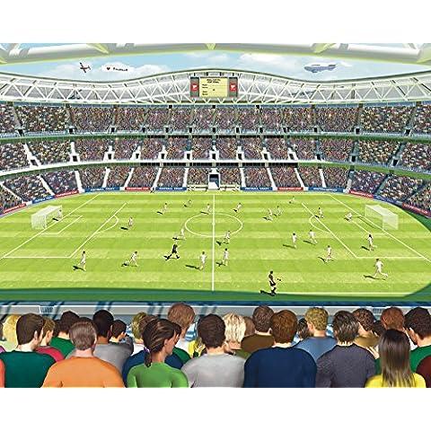 Walltastic - Papel pintado (2,5 x 3 m), diseño estadio de fútbol