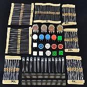 LAOMAO Elektronik Bausatz Kit/Set für ARDUINO Bauteile Widerstände Schaltknopf