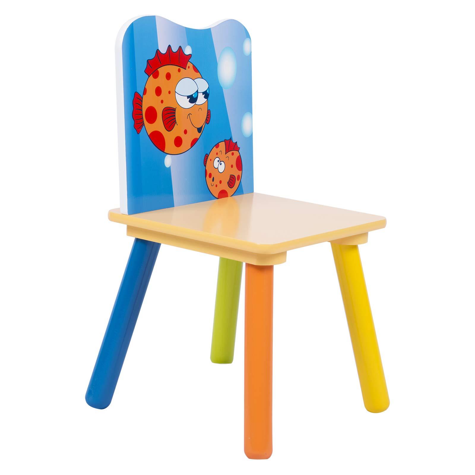 WOLTU SG003 Set Mobili Tavolo e Sedie per Bambini Gioco ...