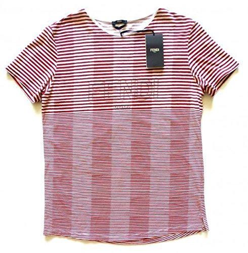 fendi-roma-maglia-t-shirt-manica-corta-uomo-in-cotone-fxx053-2lv-f0tg4-48-m