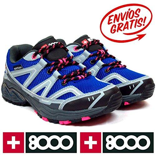 + 8000Chaussures de randonnée tajar W pour femme, femme, Tajar W bleu marine