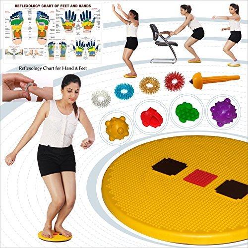 Akupressur Pyramid Twister für Abbildung Tone-up, Wirbelsäule Fitness, Abs Triming. GRATIS ACU TOOL, Sujok RING, Akupressur DAUMEN and Sujok KUGEL (Ton Twister)