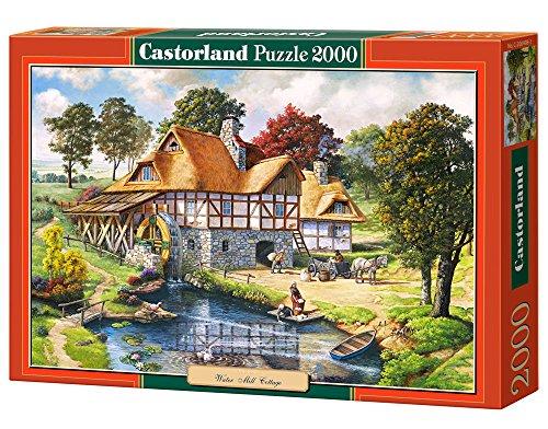 Castorland C-200498-2 - Water Mill Cottage, 2000-teilig, Klassische Puzzle Preisvergleich