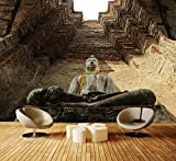 Fototapete Eine große Buddha-Statue Vlies Tapete M0957 Vliestapete XXL   XXL 400 x 280 cm - 8 Teile   Papier