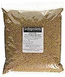 JustIngredients Essentials Yellow Mustard Seeds 1 kg, Pack of 2