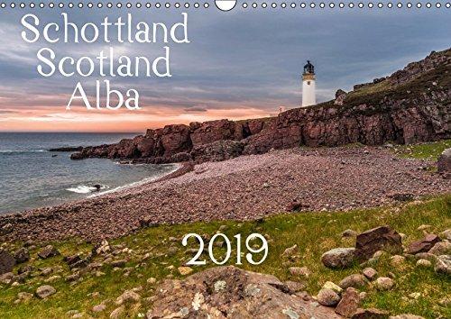 Schottland - Scotland - Alba (Wandkalender 2019 DIN A3 quer): 13 brillante Bilder zeigen Schottlands faszinierende Landschaft auf beeindruckende Weise. (Monatskalender, 14 Seiten ) (CALVENDO Orte) -