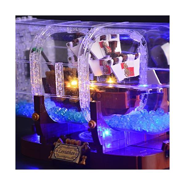 LIGHTAILING Set di Luci per (Nave in Bottiglia) Modello da Costruire - Kit Luce LED Compatibile con Lego 21313 (Non… 4 spesavip