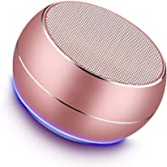 Portable Bluetooth Speakers with HD Audio and Enhanced Bass, Built-in Speakerphone for iPhone, iPad, Xiaomi, Samsung,Huawei a