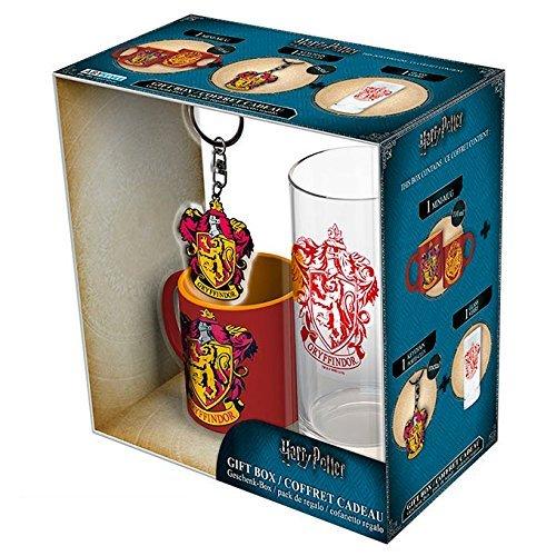 Set Regalo Gryffindor. Harry Potter. Vaso, Taza y Llavero 6