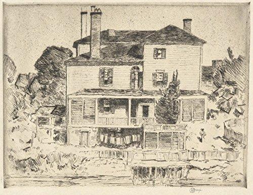 Das Museum Outlet-Ein Portsmouth Mansion, 1916-Poster (61x 81,3cm)
