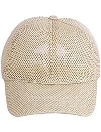 4f9dfeee434 bilAnca ® Adjustable Summer Sun Protection Stylish Mesh Net Baseball Cap  for Men Women Unisex