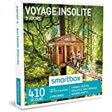 SMARTBOX - Coffret Cadeau - VOYAGE INSOLITE - 3 JOURS - 410 séjours : cabanes, yourtes, roulottes, tipis, châteaux, maisons d'hôtes