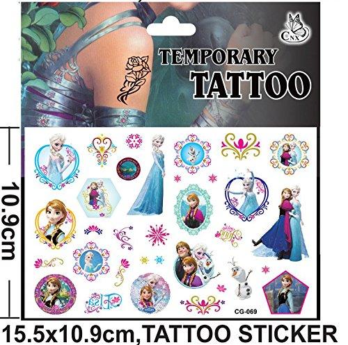 cg-069Flash Tatoo temporäre Aufkleber mit Cartoon Zeichen Frozen Aufkleber Folie Aufkleber (Flash-tattoo-maker)