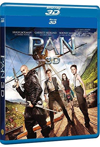 Pan [Combo Blu-ray 3D + Blu-ray 2D]