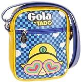 Gola , Sac bandoulière pour femme - Multicolore - Blu - Giallo - Multicolore, 16x21x10 EU
