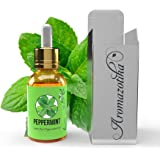 Aromazotika Peppermint Essential Oil Pure, Natural & Undiluted Therapeutic Grade for Hair, Body and Skin,15ml