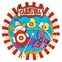 Carnival Games Dinner Plates (24)