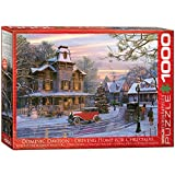 Eurographics Driving Home for Christmas 1000 PC Puzzle, 6000-0427: Davidson, Dominic