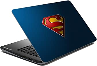 Paper Plane Design Super Hero Collection Laptop Skins Stickers For Dell, Hp, Toshiba, Acer, Asus & All Models (Upto 15.6 inches)