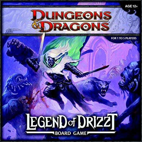 Legend of Drizzt Board Game: A Dungeons & Dragons Board Game by (2011-10-18) par Unknown