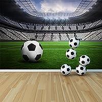 Calcio & Pitch Empty Stadium Sport & carta da parati Photo bambini da parati Hobby disponibile in 8 taglie Gigantesco Digitale