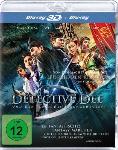 Detective Dee und der Fluch des Seeungeheuers  (inkl. 2D-Version) [3D Blu-ray]