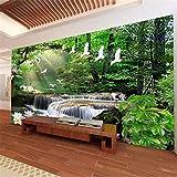 Apoart 3D Papier Peint Photo Murale Fantastique Streaming Eau Paysage Paysage Salon Papel De Parede140Cmx100Cm
