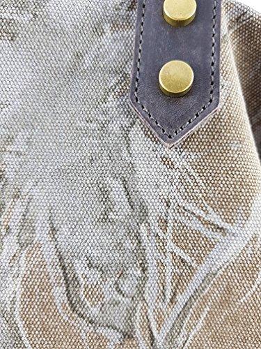 Freyday - Made in Italy, Borsa tote donna Schlamm V.1