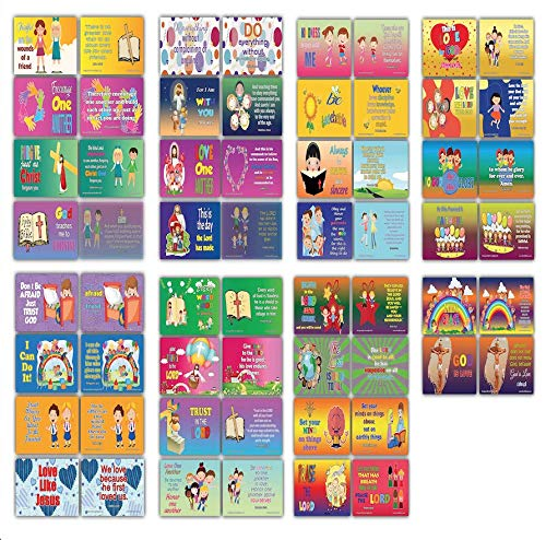 Daily Devotional Topical Bibelverse für Kinder, NIV Karteikarten, 30 Stück