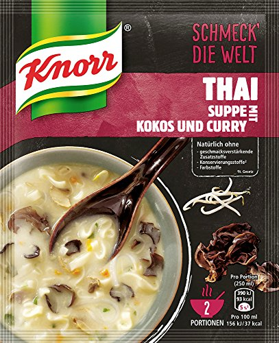 Knorr Thai Suppe Kokos & Curry , 49 g