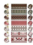 Ostereier Folie.Eierfarbe.Traditionelle Ostern Gemälde. SET Nr.1, 14, 4, 43,39 reicht für 35 Eier