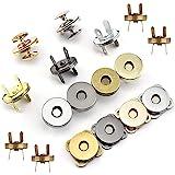 30 Juegos Botónes Magneticos, Cierre Magnetico Bolso, Craft Botones de Costura para Tejer Conjuntos Botones para Costura, Man