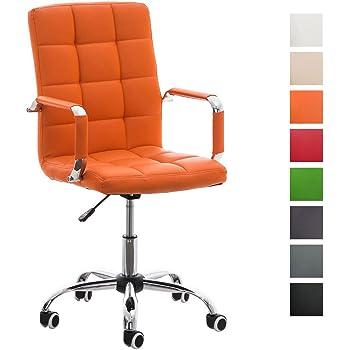 Sedia da scrivania con rotelle girevole per ufficio e cameretta in ecopelle grigio scuro amazon - Sedia con rotelle per ufficio ...
